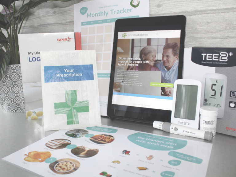 Live Well With Diabetes welcome pack